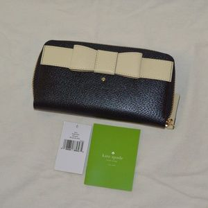 Kate Spade Kirk Park Lacey zip around wallet